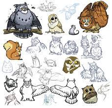 owls of noctua part three by lyosha on deviantart