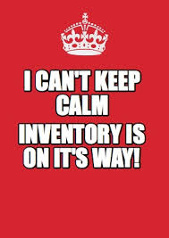 Make Keep Calm Memes - meme maker i cant keep calm inventory is on its way