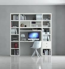 Schreibtisch Mit Regal Bürowand Homeoffice Mit Schreibtisch Eiche Weiß