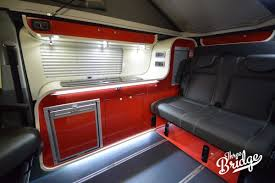 volkswagen california interior infinity 2 three bridge campers vw camper conversions vw t5