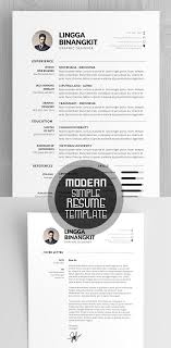 best resume template 50 best resume templates for 2018 design graphic design junction
