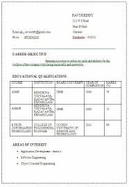 Ccnp Resume Sample For Freshers by It Information Technology Engineering Be B Tech Fresher Final Year