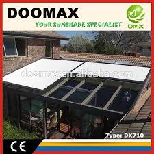 Awning Waterproofing Motorized Waterproof Aluminum Retractable Roof Pergola Motorized