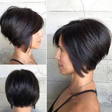 long in the front short in the back women haircuts short hair in the back long in the front hair style and color