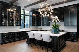 Black Kitchen Cabinets Black Kitchen Cabinets With Brass Cremone Bolts Contemporary