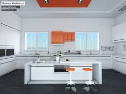 kitchen 3d design software making of ivory white contemporary kitchen 3d rendering