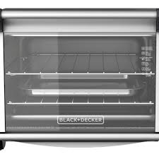 Black And Decker Toaster Oven To1675b Black Decker 6 Slice Convection Countertop Toaster Oven Silver