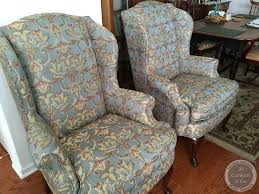 Cost To Reupholster A Sofa by Cost To Re Upholster A Wing Chair