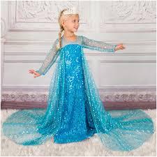 Halloween Costume Elsa Frozen Girls Elsa Frozen Inspired Halloween Costume Dress Mia