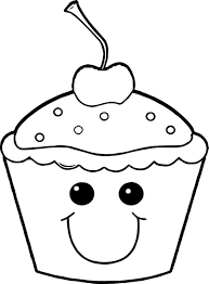 cupcake coloring page best coloring pages adresebitkisel com