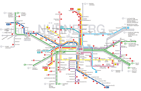 Munich Subway Map by Mapa Metro Nuremberg U Bahn Mapa Metro