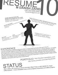 Photography Resumes 44 Unusual And Artistic Resume Designs Smashingapps Com