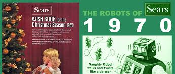 wish catalog robotapedia 1970 sears christmas wish book robots page