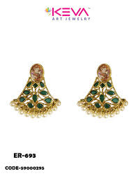 gold earrings tops designs of gold ear tops earrings at rs 590 diamond ear