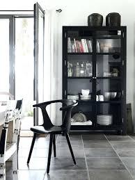 corner china cabinet ashley furniture black china cabinet pioneerproduceofnorthpole com