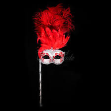 silver masquerade masks for women handheld stick venetian masquerade mask for women m6150 silver