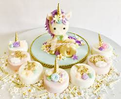 unicorn cake topper unicorn chocolate covered oreos sugared