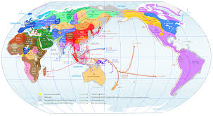 Types Of World Maps by Bensozia Y Chromosome Distribution Map