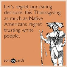 let s regret our decisions this thanksgiving as much as