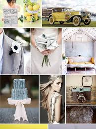 modern art deco inspired wedding inspiration board by the