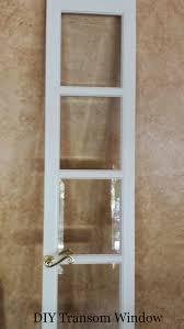 French Doors With Transom - diy transom window entryway idea