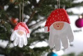 last minute diy print santa ornaments babyccino