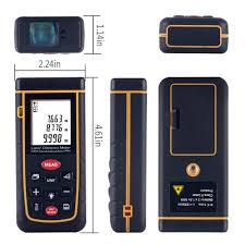 0 16 to 131ft 40m laser distance meter goertek portable laser