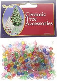 replacement plastic lights for ceramic christmas tree amazon com darice p0662 ceramic christmas tree bulb 5 100 pkg