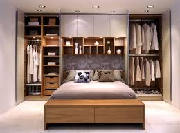 Bedroom Storage Bench Bedroom 2017 Wardrobes On Either Side Of The Bed With Long White