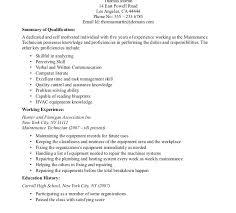 mechanic resume template maintenance mechanice production sle wonderful mechanical