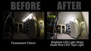 led strip light photography brightest and best led light strips quad led tape light youtube