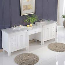 Modular Bathroom Vanity by Silkroad 90 U0027 U0027 Double Sink Bathroom Modular Vanity Set Ebay