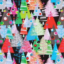 Wholesale Christmas Gift Wrap - neon christmas trees best christmas gift wrap deigns pinterest