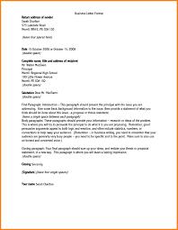 Free Business Letter Samples by Address Business Letter The Best Letter Sample
