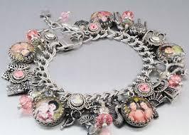 handmade bracelet charms images Charm bracelet jewelry harry potter inspired alice in jpg