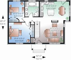 Traditional Floor Plan Traditional Style House Plan 2 Beds 1 00 Baths 1068 Sq Ft Plan