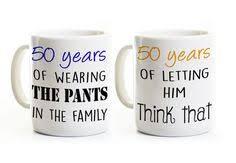 50 anniversary gift 50th anniversary gift set of 2 china mugs mr right mrs always