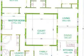 house plans with center courtyard mpelectricltda