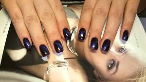 luxbeauty shellac nails cats eyes youtube