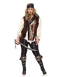 Womens Pirate Halloween Costumes Womens Size Costumes Size Halloween Costumes