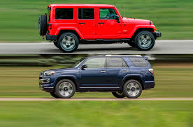 mini jeep wrangler car compare 2017 jeep wrangler unlimited vs 2017 toyota 4runner