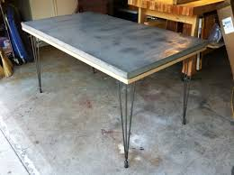 ikea legs lightweight composite concrete table top urethane coating