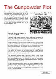 the gunpowder plot facts worksheet free pdf download