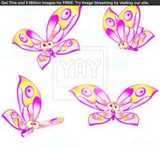 simple butterfly cartoon