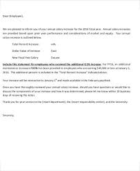 salary letter templates 5 free sample example format download