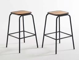 chaise de bar la redoute tabouret mi hauteur par la redoute
