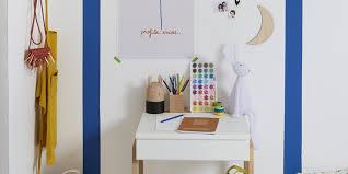 bureau coloré décorer le bureau de votre enfant avec de la couleur