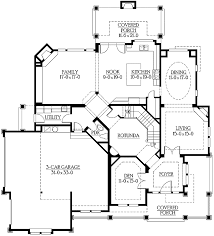 corner house plans intricate craftsman for corner lots 23176jd architectural
