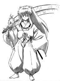 comic book coloring pages 44 best inuyasha coloring images on pinterest inuyasha coloring