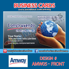 designs amway business cards design plus amway business visiting
